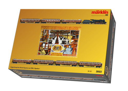 Marklin 26922 Orient Express Train Set with a Baden Class IV h
