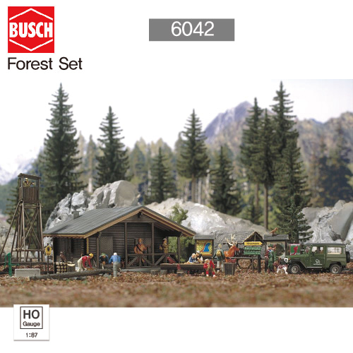 BUSCH HO 6042 Forest Set