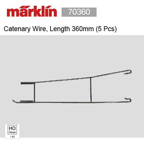 Marklin 70231 Catenary Wire Adjustment Section (5 Pcs)