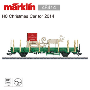 Marklin 48414 H0 Christmas Car for 2014
