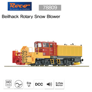 ROCO 78809 Beilhack Rotary Snow Blower