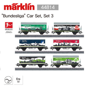 "Marklin 44814 ""Bundesliga"" Car Set, Set 3 메르클린"