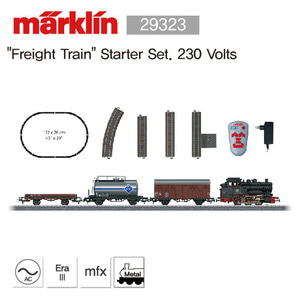 "Marklin 29323 ""Freight Train"" Starter Set. 230 Volts"