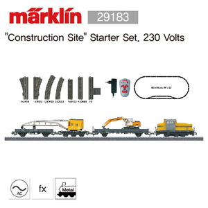 "[할인 판매] Marklin 29183 Märklin Start up - ""Construction Site"" Starter Set. 230 Volts"