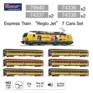 "Express Train ""Regio Jet"" 7 Cars Set"