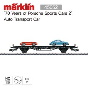 "MARKLIN 45052 ""70 Years of Porsche Sports Cars 2"" Auto Transport Car"