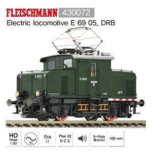 Fleischmann 430072 Electric locomotive E 69 05, DRB