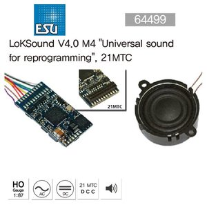 "ESU 64499 LokSound V4.0 M4""Universal sound for reprogramming"", 21MTC"