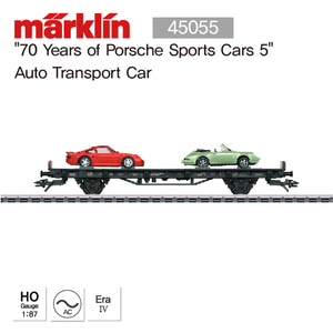 "MARKLIN 45055 ""70 Years of Porsche Sports Cars 5"" Auto Transport Car"
