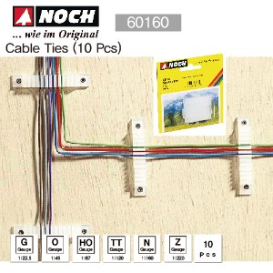 NOCH 60160 Cable Ties (10 Pcs)