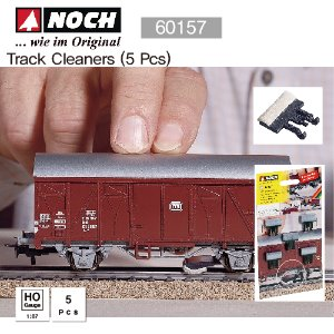NOCH HO 60157 Track Cleaners (5 Pcs)