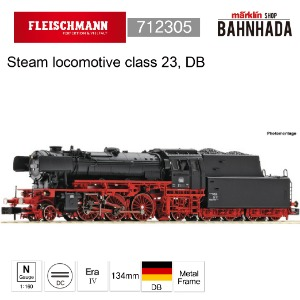 Fleischmann 712305 Steam locomotive class 23, DB