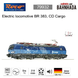 ROCO 79932 - Electric locomotive BR 383, CD Cargo, AC SOUND