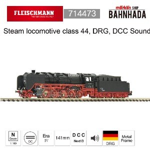 Fleischmann 714473 Steam locomotive class 44, DRG, DCC SOUND