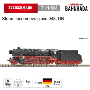 Fleischmann 714404 Steam locomotive class 043, DB