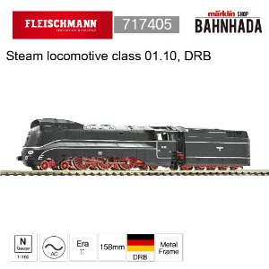 Fleischmann 717405 Steam locomotive class 01.10, DRB