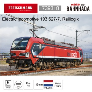 Fleischmann 739318 Electric locomotive 193 627-7, Raillogix
