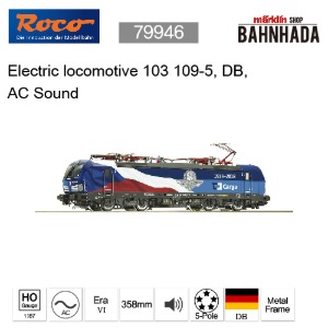 ROCO 79946 Electric locomotive 103 109-5, DB, AC Sound