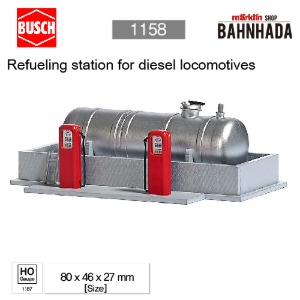 BUSCH 1158 Refueling station for diesel locomotives