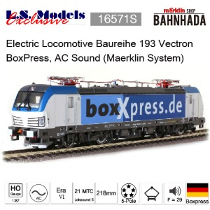 LSmodels 16571S Electric Locomotive Baureihe 193 Vectron BoxPress, AC Sound (Maerklin System)