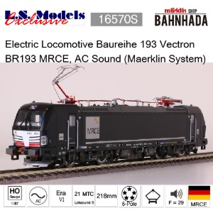 LSmodels 16570S Electric Locomotive Baureihe 193 Vectron BR193 MRCE, AC Sound (Maerklin System)